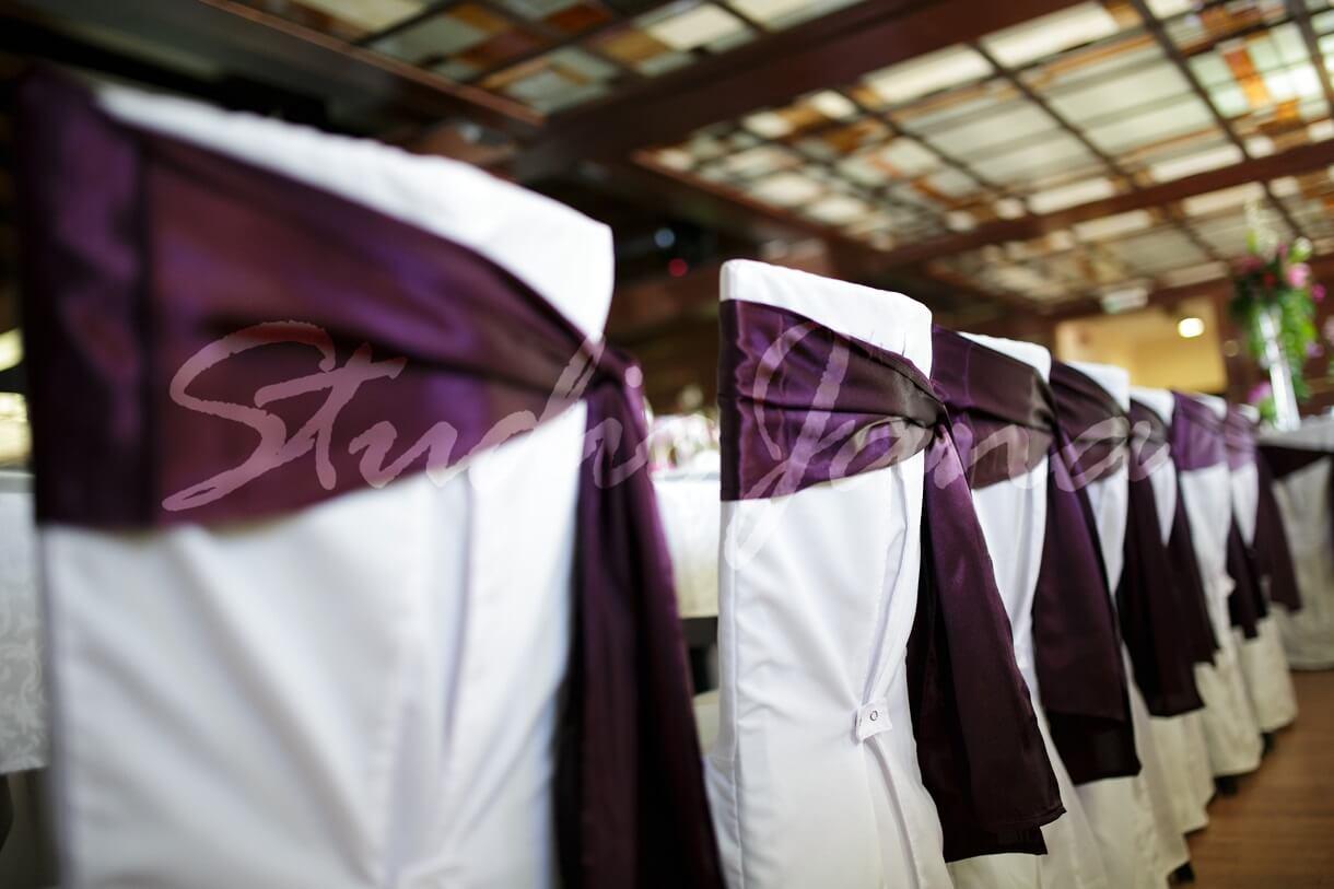 Dekoracije stolica - Violet