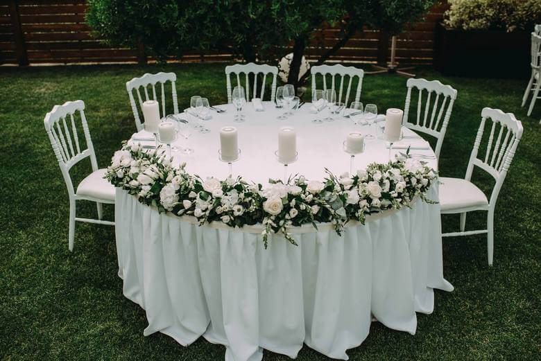dekoracija venčanja.dekoracija vencanja.luksuzni aranžmani.mlada.bidermajer.zelenilo.